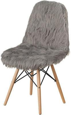 shaggy dog charcoal gray accent