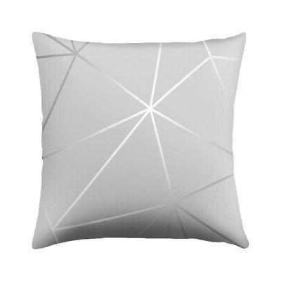 Modern Geometric Pillow Home