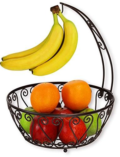 simplehouseware fruit basket bowl