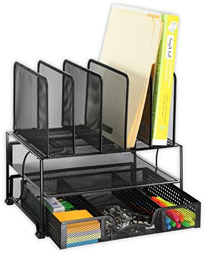 SimpleHouseware with Sliding Sections, Black