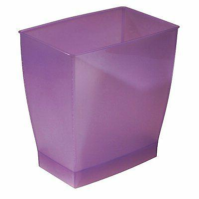 spa mono rectangle waste basket