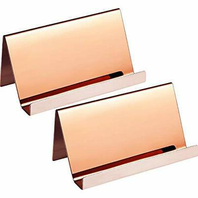 stainless steel business cards holders