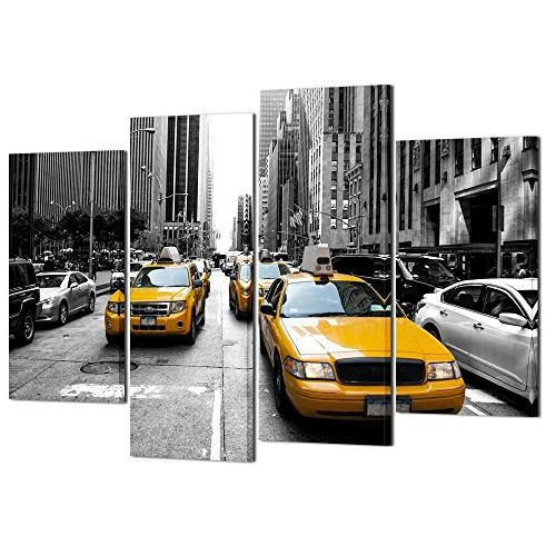 taxis newyork canvas wall home