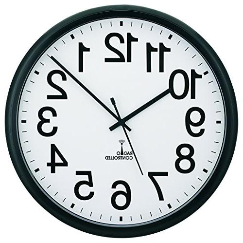 tc7001rc commercial atomic wall clock