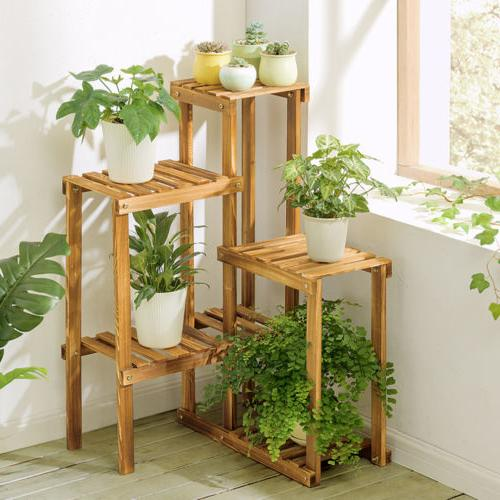 US Tier Wood Stand Office