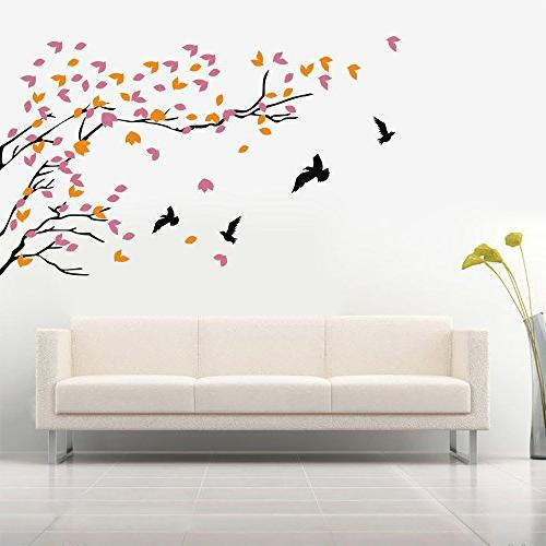 vinyl tree wall decal stickers