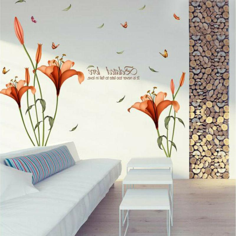 Waterproof Sticker Decor Room Wall Stickers