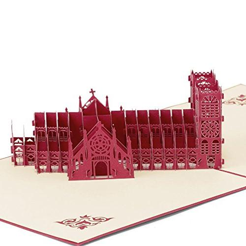 westminster abbey 3d pop greeting