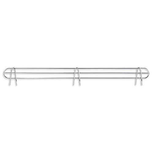 wire shelving back support