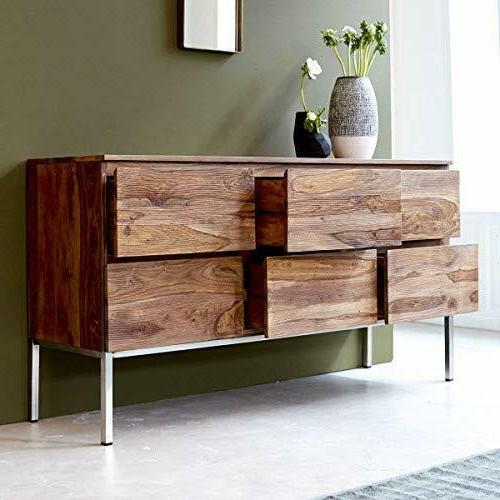 Wood Drawers Home Office