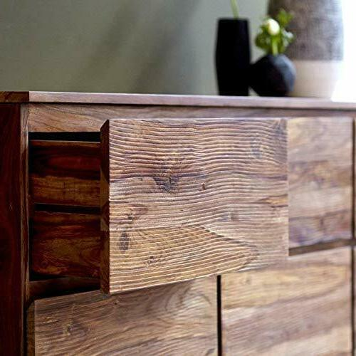 Wood 6 Drawers Antique Home Office