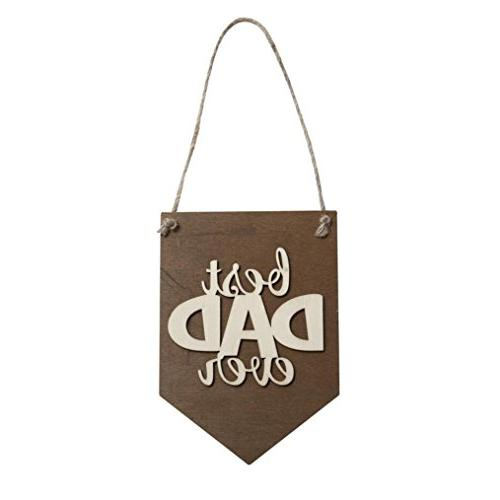 wooden hanging plaque board home