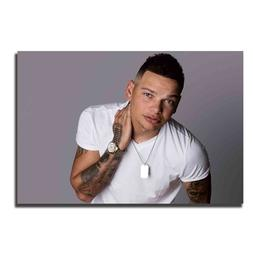 L63 Kane Brown Rapper-Music-Hip-Hop Art Poster <font><b>Fabr