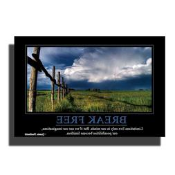 L67 Motivational Success Quotes-Nature Scenery Art Poster <f