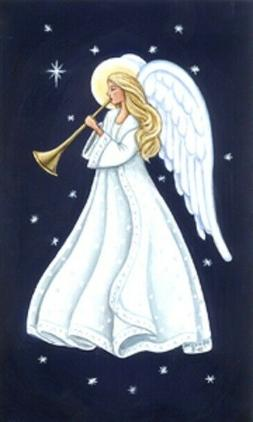 LED Light Up Angel  - Lighted Canvas Picture Art Home Office