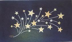 LED Light Up Shooting Stars - Lighted Canvas Picture Art Hom