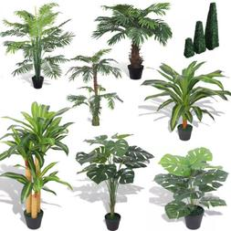 Lifelike Artificial Tree Plant with Pot Fake Garden Office P