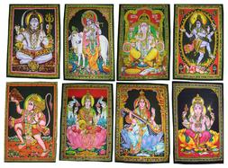 Lord Gods Set of 5-100 Cotton Prints Wall Art Decor Painting