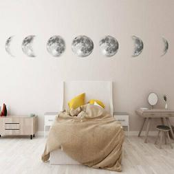 Luminous Moon Wall Stickers Removable Art DIY Wall Mural Hom