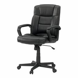 """Sauder 414345 Gruga Leather Managers Chair, L: 25.51"""" x W: 2"""