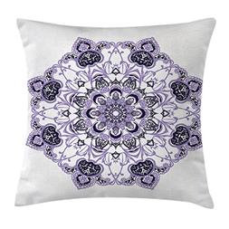 Ambesonne Mandala Decor Throw Pillow Cushion Cover by, Kalei