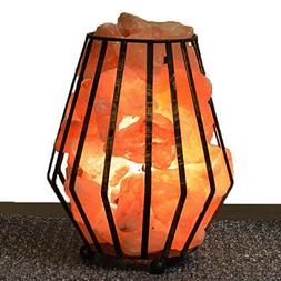 "Maymii.Home 8"" Himalayan Salt Crystal Table Desk Lamp Light"
