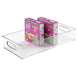 mDesign Home Kitchen Organizer Bin for Pantry, Freezer & Sto