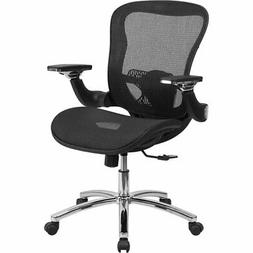Mid-Back Mesh Chair with Synchro-Tilt And Height Adjustable