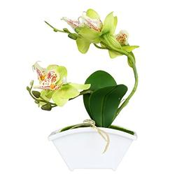 Mini Decorative Artificial Synthetic Orchid, Faux Flowers in
