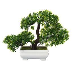 Accreate Mini Fake Plants Creative Bonsai Tree Artificial Pl