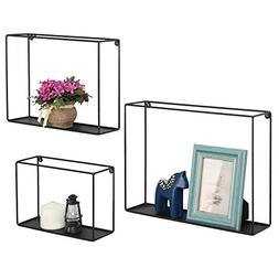 Modern Metal Wire Frame Shadow Boxes, Decorative Wire Cube F