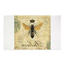 CafePress Modern Vintage French Queen Bee 3'X5' Decorative A