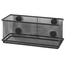 MyGift Modern Wire Mesh Magnetic Basket Storage Tray, Office