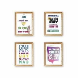 wallsthatspeak Motivational Wall Decor, Inspirational Classr