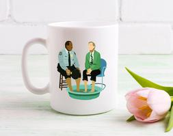 Mr. Rogers and Officer Clemmons Coffee Mug