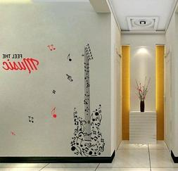 Music Wall Sticker Removable Decal Home & Office Décor Wall