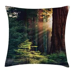 Ambesonne National Parks Home Decor Throw Pillow Cushion Cov