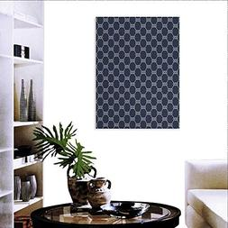 Navy Blue Print Paintings Home Wall Office Decor Navy Inspir