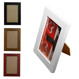 New 4x6/5x7/8x10cm Wooden Photo Frame Wall Picture Holder Of