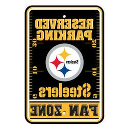 NFL Pittsburgh Steelers Home Room Office Bar Decor Parking S