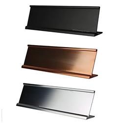 Top Selling 2x10 Office Desk or Tabletop Name Plate Holders