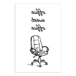 Office Sweet Office Funny Cubicle Art Print