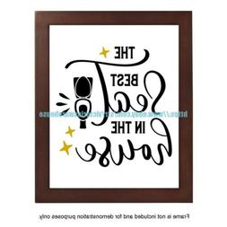 office wall art decor the best seat in the house funny bathr