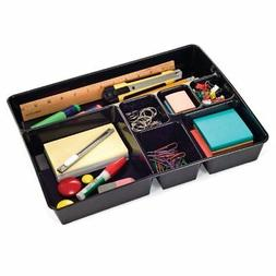 Officemate OIC Achieva Deep Drawer Tray, Recycled, Black