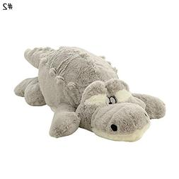 Zeroyoyo Oversized Crocodile Plush Toy Stuffed Animals Dolls