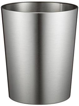 InterDesign Patton Wastebasket Trash Can for Bathroom, Offic