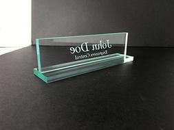 "Engravers Central Personalized Office Desk Name Plate 3/8"" G"
