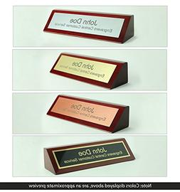 Engravers Central Personalized Wooden Executive Business Off