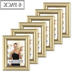 Langdons 5x7 Picture Frame Set  Photo Frames 4x6, Wall Hang
