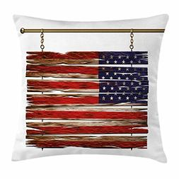 Ambesonne Primitive Country Decor Throw Pillow Cushion Cover